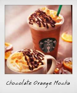 チョコレート オランジュ モカ