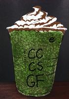 アドチップチョコレートソース抹茶クリームフラペチーノ